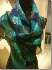 bw spot scarf 140